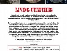 Living Cultures Workshop