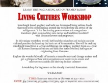 Living Culture Workshop
